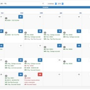 Calendario - Vista 1 mes
